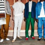 Туфли Christian Louboutin на Неделе мужской моды в Лондоне, осень-зима 2019