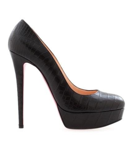 Черные туфли из кожи крокодила Bianca 140. Цена: 365 000 руб. (Магазин Aizel)