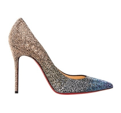 Замшевые туфли со стразами Decollete 554 100. Цена:180 000руб.(Магазин Aizel)