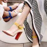 Босоножки от бренда Лабутен — лучшая обувь на лето