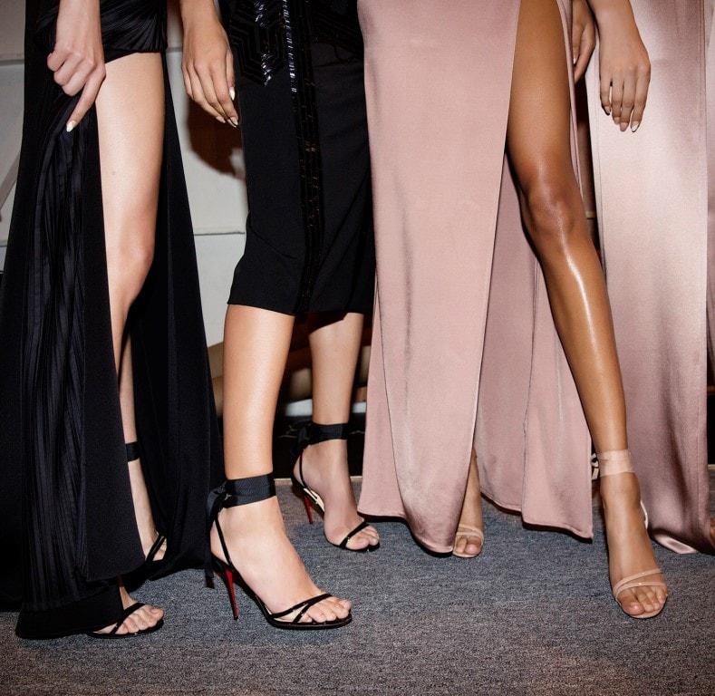 Босоножки от бренда Лабутен - лучшая обувь на лето